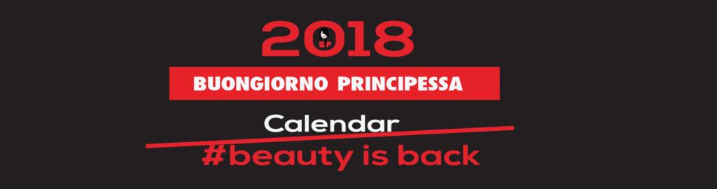 calendario Prncess 2018